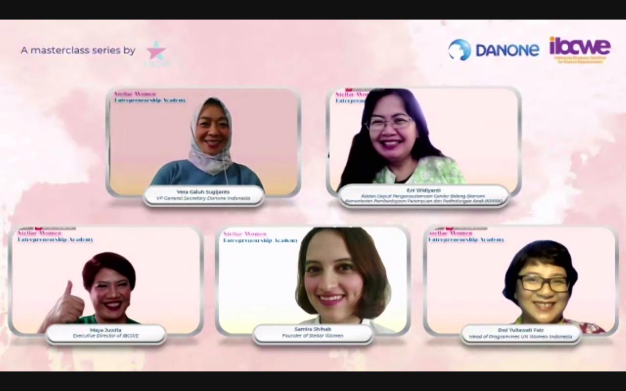 Danone Indonesia, Stellar Women dan IBCWE Dukung Pemberdayaan Perempuan Indonesia
